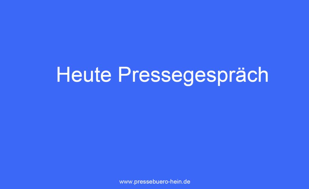 Gute Vor- und Nacharbeit sichert den Erfolg für ein #Pressegespräch