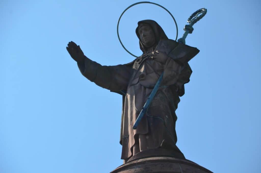 Heilige Odilia - Schutzpatronin des Elsass